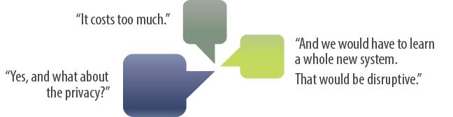 Challenge conversation